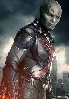 Supergirl season 2 poster of Martian Manhunter