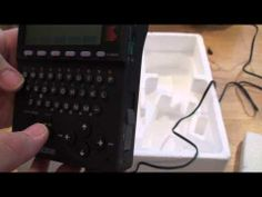 1992 Sony DD-8 Data Discman Electronic Book Player overview. - YouTube