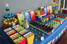 power ranger party - Google Search                                                                                                                                                                                 More