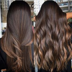 Side Swept Waves for Ash Blonde Hair - 50 Light Brown Hair Color Ideas with Highlights and Lowlights - The Trending Hairstyle Balayage Straight Hair, Brown Hair Balayage, Balayage Brunette, Hair Color Balayage, Hair Highlights, Ombre Hair, Straight Brunette Hair, Brown Straight Hair, Bayalage