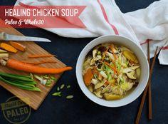 RECIPE #56 Healing+Chicken+Soup
