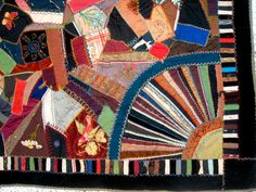RESERVED for JANE Museum Worthy American Civil War Crazy Quilt c. 1888 by GentlemanlyPursuits on Etsy