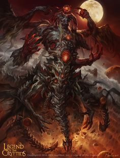 ArtStation - evil god advenced, Hua Lu