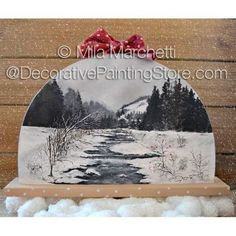 Winter Wonderland ePattern - Mila Marchetti - Available @ http://www.decorativepaintingstore.com/products.php?cat=Mila+Marchetti