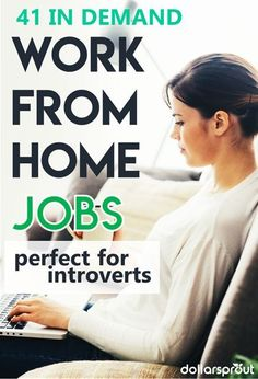 Work from home jobs are the best! If you're looking for legitimate work from home jobs then check out this list of the highest paying one around. Perfect for moms looking for flexible ways to make extra money. From data entry and medical careers to non phone based customer services positions, this is the best list of work from home jobs around (and some have great benefits too)!