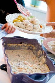 Skagenfisk - 56kilo.se - Recept, Inspiration och Livsstil med LCHF Milk Recipes, Low Carb Recipes, Snack Recipes, Cooking Recipes, Snacks, I Love Food, Good Food, Yummy Food, Scandinavian Food