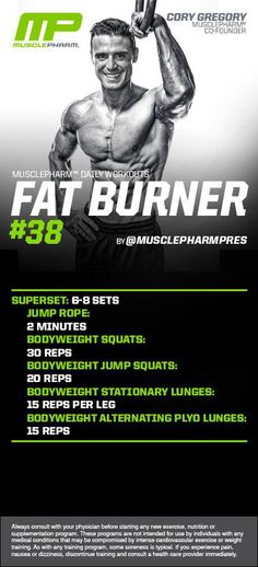 MP Fat Burner 38