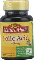 Nature Made Folic Acid -- 400 mcg - 250 Tablets Biotin Hair Growth, Hair Growth Tips, Folic Acid Hair, Grow Hair Overnight, Just Natural Products, Make Hair Grow Faster, Diy Haircare, Burnt Hair, Increase Hair Growth