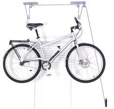 Delta Cycle El Greco Ceiling Hoist Bike Storage: Gardenista - REI - inexpensive