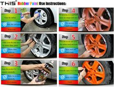flexible rubber coating spray paint car protective film for wheel rim 400ml spray plastic film