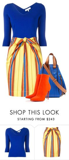 """""""Brights"""" by dazzling-dazed-dayz ❤ liked on Polyvore featuring Milly, Moschino and Loewe"""