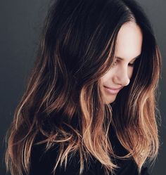 17 Examples of Dark Brown Hair With Highlights to Bring to Your Colorist