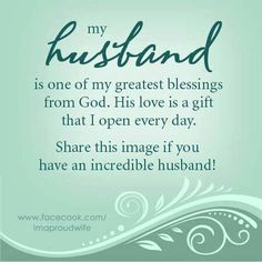 My husband...the spiritual leader of our family, and the love of my life on earth...