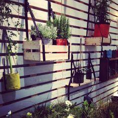 inspiration en bois pour l'extérieur; Maison et Objet janvier 2014 : Bacsac