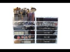 THE CLEAR CUBE (MAKE UP STORAGE) AND MY MAKEUP COLLECTION!!!!