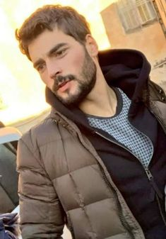 Couple Photoshoot Poses, My Bebe, Beautiful Men Faces, Bad Kids, Actors Images, Turkish Actors, Male Face, Mens Clothing Styles, Bearded Men