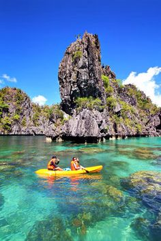 The Big Lagoon in El Nido, Palawan, The Philippines. A Travel Guide to Philippines Last Frontier