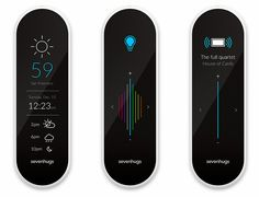 The sevenhugs remote promises to be an intuitive interface to control all your home automation and media needs.