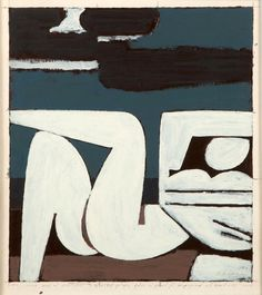 Full Moon by Yiannis Moralis 1977 January Art, Painting Wood Paneling, Art And Craft Videos, Modern Sculpture, Figure Painting, Contemporary Paintings, Figurative Art, Female Art, Art Projects