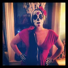 Day of the Dead Halloween Costume.