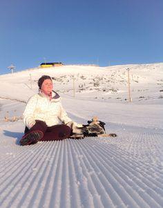 Morning hike in Levi Ski Resort