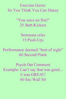 So You Think You Can Dance Workout!