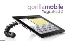 Yoga for your iPad!