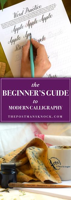 Ever wondered how to create modern calligraphy? This guide starts at square one guiding you through what to buy how to hold the pen and what to write!