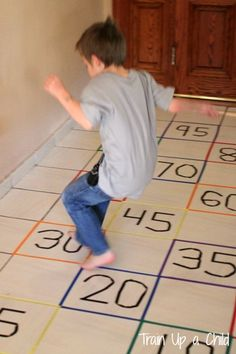 Gross Motor Activity to Practice Skip Counting ~ Learn Play Imagine