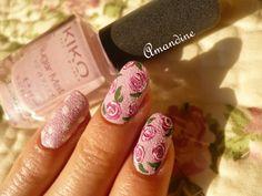 Amandine nail art déco vintage