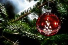 Christmas Ornament, Christmas Tree, Christmas