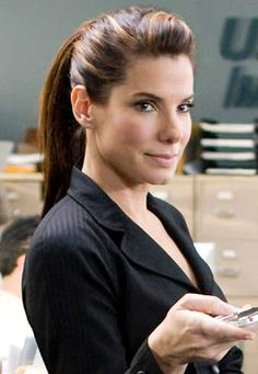 sandra bullock - hair color with highlights. If ever I venture to die my hair, I want it to look like this :)