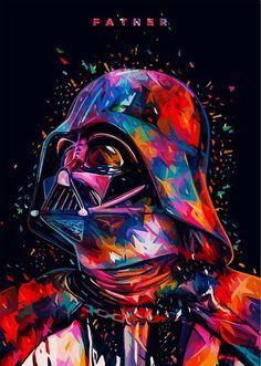 Personalised Patrice Murciano Star Wars Darth Vader Anakin Square Cushion Covers