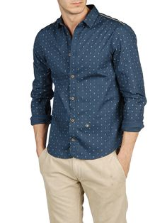 Shop at the Official Diesel Store: a vast assortment of jeans, clothing, shoes & accessories. Diesel Shirts, Diesel Store, Button Up Shirts, Men's Shirts, Casual Shirts For Men, High Fashion, Shirt Dress, My Style, Long Sleeve