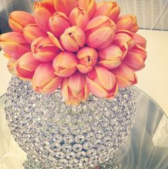 A mock up for a future event, our gorgeous crystal orbs with orange tulips. #crystal #tulip #orange #centerpiece#centerpiece #crystals #hire #melbourne #floralcenterpieces #floralcenterpiecesmelbourne #floralstyling #flowercenterpieces #flowersforweddings #tabledecorations #weddingcenterpiecesmelbourne #weddingdecorhire #weddingdecorationideas #weddingdesign  www.decorit.com.au (15)