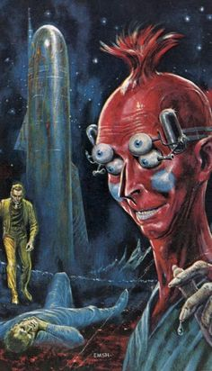 Ed Emshwiller - The Star King, 1963.