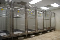 Custom Made Kennels Temperature controlled and video monitored. Lakeland Animal Clinic