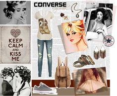 """Make It You: Classic Converse"" by faith-bell ❤ liked on Polyvore"