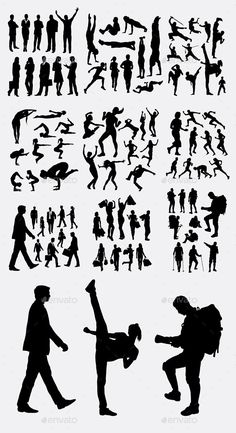 Buy People Activity Silhouettes by on GraphicRiver. Male and female people activity silhouette. Good use for symbol, logo, web icon, or any design you want. Easy to use. Architecture Symbols, Architecture People, Architecture Sketches, Sketches Of People, Drawing People, Persona Vector, Disney Princess Pictures, Silhouette Clip Art, Figure Photography