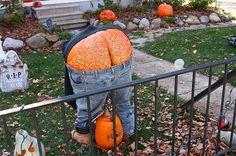 Halloween outdoor decor. Made me snicker.