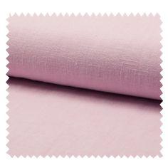 Tissu Lin Lavé Rose tissu des ursules