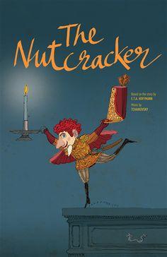 the nutcracker ballet poster - Google Search