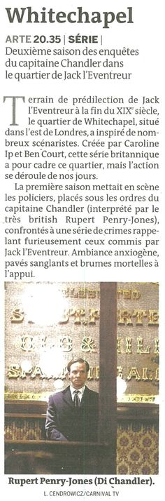 """""""Whitechapel"""" (Le Monde Télévision)"""