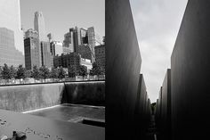Reflection on two memorials #9-11 #holocaust #NewYork #berlin
