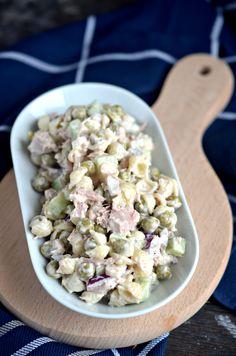 Sałatka z tuńczykiem i makaronem - Cook Yourself Pasta Salad, Potato Salad, Salads, Clean Eating, Potatoes, Cooking Recipes, Cheese, Ethnic Recipes, Food