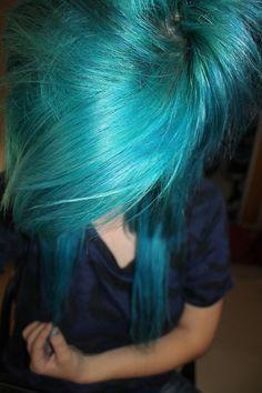 blue hair swag
