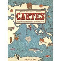 Cartes - relié - Aleksandra Mizielinska, Daniel Mizielinski - Livre - Soldes 2016 Fnac.com