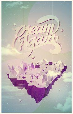 Font & Graphic by Sergio Moyano, via Behance