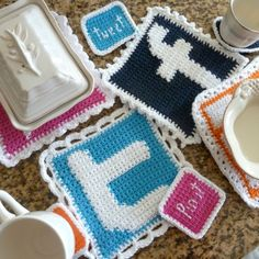 Social Media Hotpads and Coasters: Facebook | Book People Studio
