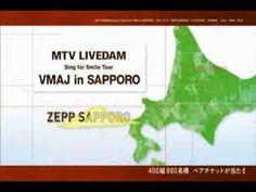 MTV LIVEDAM Sing for Smile Tour VMAJ in SAPPORO(TV CM) / JASMINE,lecca,R...